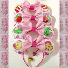 Shopkins Mouse Ears // by Born Tutu Rock by BornTuTuRock on Etsy https://www.etsy.com/listing/455918792/shopkins-mouse-ears-by-born-tutu-rock