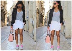 Summer outfit - street style in Bordeaux ! Pompompidou blog mode / look d'été sporty chic