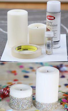Decoración de velas