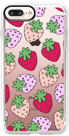Casetify iPhone 7 Plus Case and iPhone 7 Cases. Other Fruity iPhone Covers - Strawberry Babies by Danny Brito | Casetify