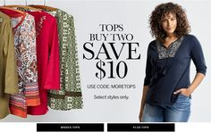 Take 10% Off on your orders + Free Shipping on #Clothing #Accessories #Shoes #Jewelry & #Petities on affordable price at #dressbarn by using dress barn Coupon, dressbarn Promo Code, dress barn Discount Codes for dressbarn     #dress #top #pants #skirt #denim #outerwear #rozandali #handbags #hosiery #sock #legging #wraps #couponzshop #sleepwear #shapewear #flat #heels #bracelets #necklace #plussize