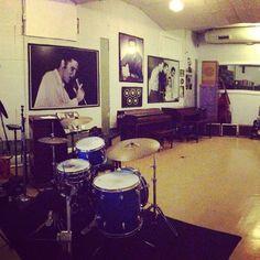 Music History @sun studios. Memphis.