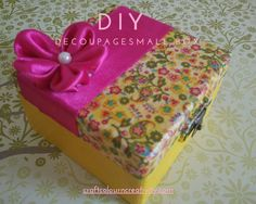 Decoupage step by step | Craft Colour And Creativity