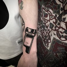 Swollen and warped as a result but did this little 35mm film roll tattoo today too! Thanks tom! Xx