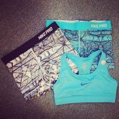 Nike Pros though>>>