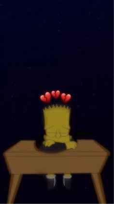 Super Ideas Simpsons Aesthetic Wallpaper Black - Cotton Candy B*tch - Hintergrund Simpson Wallpaper Iphone, Black Wallpaper Iphone, Disney Phone Wallpaper, Cartoon Wallpaper Iphone, Iphone Background Wallpaper, Cute Cartoon Wallpapers, Phone Wallpapers, Desktop Backgrounds, Glitch Wallpaper