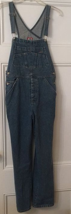 Old Navy Womens Sz 12 14 Slim Cut Bib Overalls Carpenter Denim Jeans 100 Cotton | eBay