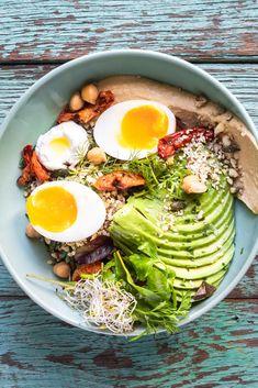 Beautiful Brunch Quinoa Bowl via @crushonlinemag