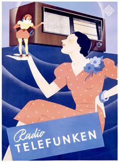 Radio Telefunken 1938 - Radio excellence.