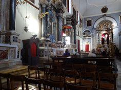 Interior da igreja-Dubrovnik