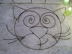 fil de fer chat