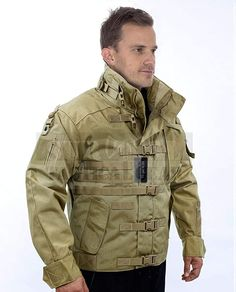 Amazon.com: ZAPT 1000D CORDURA US Army Tactical Jacket Military Waterproof Windproof Hard Shell Jackets (Coyote Tan, Small:34-39''): Clothing Tactical Wear, Tactical Jacket, Tactical Clothing, Best Waterproof Jacket, Best Rain Jacket, Hunting Jackets, Hunting Gear, Collar Designs, Camo Pants