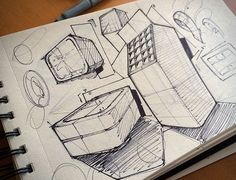 Sketching 2 on Behance