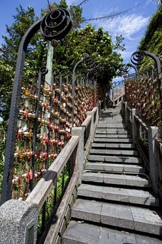 Stairs near Wenwu Temple http://liliansg.hubpages.com/hub/Visiting-Taiwan-Sun-Moon-Lake #taiwan