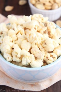 21. Skinny Peanut Butter Kettle Corn #recipes #healthy #popcorn http://greatist.com/eat/healthy-popcorn-recipes