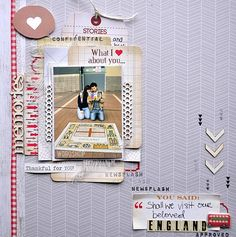 ** Chic Tags- delightful paper tag **: Layered tags on the LO
