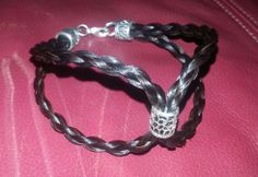 Custom unique horse hair jewelry at an AFFORDABLE price!!! www.TCEMCustomDesigns.com