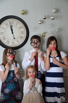 New Years Eve Photo Props #newyears