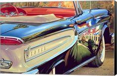 58 Ford Edsel Transportation Canvas Wall Art Print by Graham Reynolds