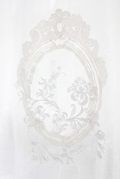 white embroidery