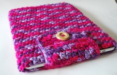 Crochet iPad Cover / Sleeve / Case in Pinks / by Keepnthesunnyside, $14.00