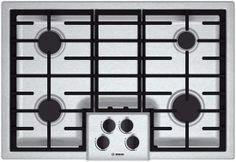 "Bosch 30"" Gas Cooktop 500 Series - Stainless Steel NGM5055UC"