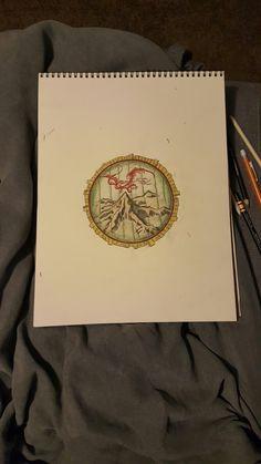 Hobbit Door transparent Smaug Mountain Map Drawing