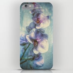 Vintage Orchids iPhone & iPod Case