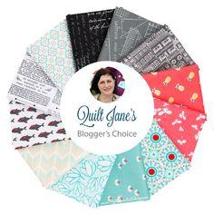Quilt Jane's Blogger's Choice Fat Quarter Bundle | Fat Quarter Shop