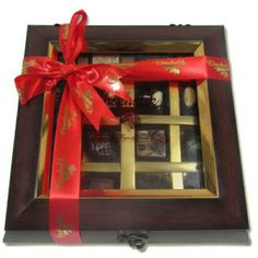 Decadent Flavors in A Beautiful Wooden Box