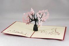 Tree 3D Pop UP Card/ Kirigami Pattern
