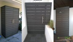 Grey-Wall-cladding-and-screens,-used-for-an-outdoor-cupboard
