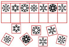 HIVER et FROID en MATERNELLE. Flocons de neige. Discrimination visuelle Photos Folles, Working Memory, Cicely Mary Barker, French Classroom, Petite Section, Winter's Tale, Teaching French, Preschool Learning, Winter Activities