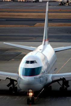 キャセイパシフィック航空 Boeing 747-400 B-HKT 羽田空港 航空フォト   by だいせんさん 撮影2015年02月20日