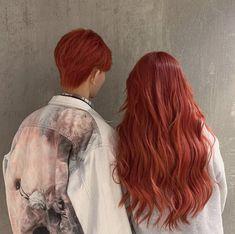Dyed Red Hair, Dye My Hair, Cut Her Hair, Hair Cuts, Red Hair Inspo, Ginger Hair Color, Copper Hair, Hair Reference, Hair Dye Colors