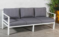 6490 kr OakLand │Adelaide 3seter hagesofa │STØRST UTVALG BEST PRIS Outdoor Sofa, Outdoor Furniture, Outdoor Decor, Ibiza, Brighton, Teak, Love Seat, Couch, Home Decor