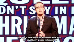 What the Queen didn't say in her Christmas message. A Frankie Boyle classic! Frankie Boyle, Offensive Humor, Christmas Messages, British Comedy, Medical Problems, Acting, Queen, Sayings, Classic