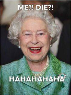 Oh, Queen Elizabeth..