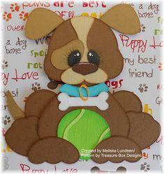 Tiny Treasures Dog by Treasure Box Designs