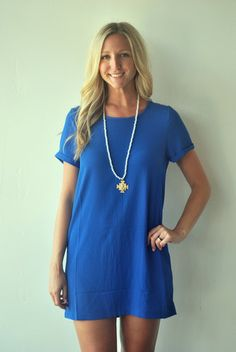 MINK PINK Royal Blue Dress $56 poshboutiquestores.com