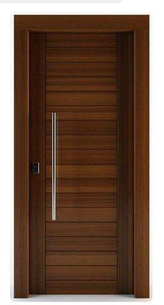 Puerta principal Flush Door Design, Single Door Design, Home Door Design, Bedroom Door Design, Door Gate Design, Door Design Interior, House Main Door Design, Main Entrance Door Design, Wooden Main Door Design