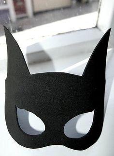 Bat Girl mask - Out of felt or fun foam.