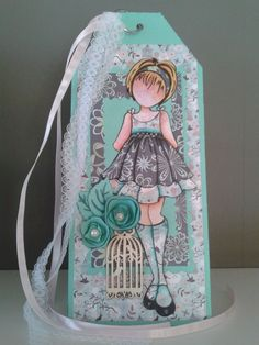 Prima Doll Tag made by Nanda.
