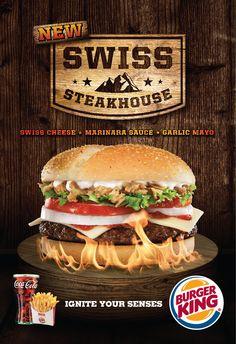 Burger King  food styling Fiona Archibold  photography Toufic Araman