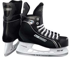 Bauer Hockey Vapor X:05 Junior Ice Hockey Skate - One Color 5 by Bauer. $49.99. Up your game with these Bauer® Vapor X:05 junior ice hockey skates. Built for speed and comfort, the skates feature Tuuk Lightspeed Pro blades and closed-cell foam ankle padding. The skates also boast brushed nylon lining, a standard comfort footbed, and an anatomical, 1-piece felt tongue.