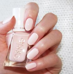 Slip on this misty rose pink, and dance your way to greatness with eternal chic 'lace me up'. Shop this essie ballet nudes look that's on pointe here: http://www.essie.com/gel-couture/colors/Neutrals/lace-me-up.aspx