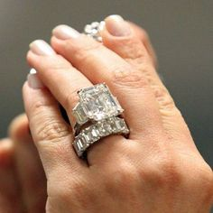 Kim Kardashian's Engagement Ring Up For Sale. There are no words formulating. I'm at a loss... For words...