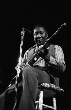 """Unique, one-of-a-kind, Limited Edition Fine Art print of Muddy Waters, legendary blues musician and """"father of the Chicago blues"""". Muddy Waters, Rhythm And Blues, Blues Music, Soul Music, Music Love, Live Music, Blues Artists, Music Artists, Soul Jazz"""