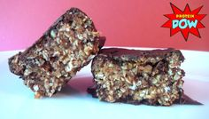 The trick behind a good protein bar? A great mixture (you know, the 'body' of the bar). It has to be moldable, not too wet or sticky, and never to dry. It