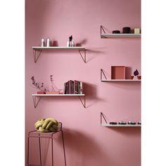 Pythagoras shelf, bordeaux red – Maze #interior #design #scandinavian